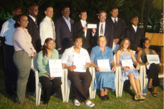 Commonwealth Youth Services' Award presentation
