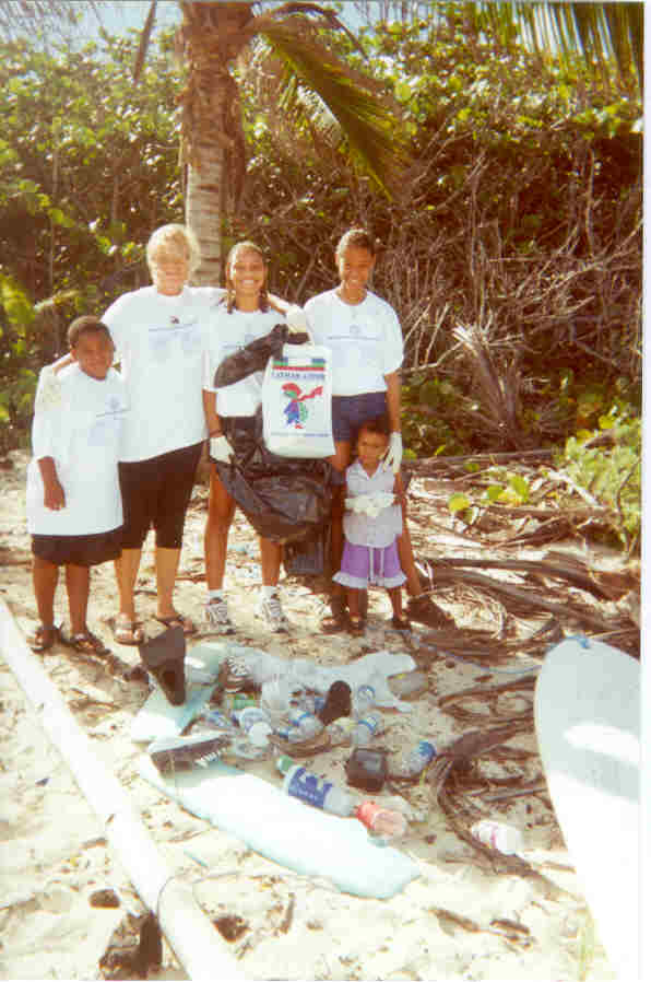 North Side Beach Clean up - October 2000
