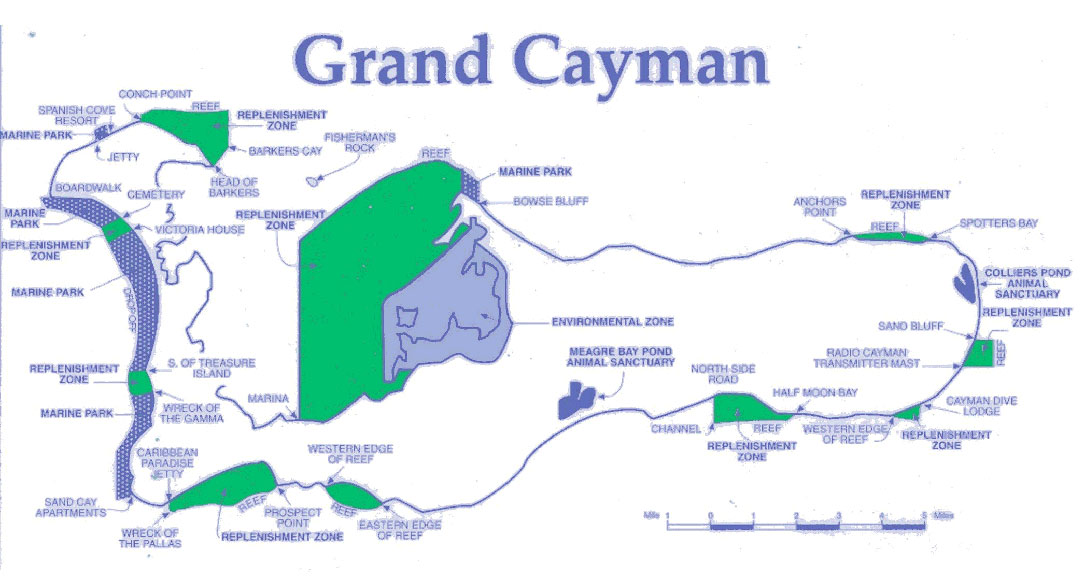 Grand Cayman Marine Parks