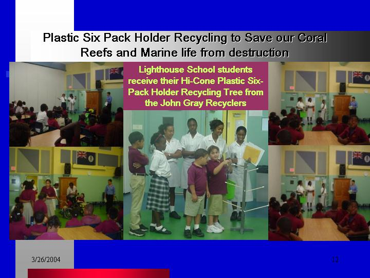 Plastic Six-Pack Recycling - Lighthouse School