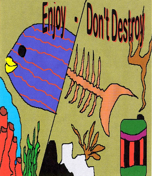 Enjoy Don't Destroy by Priscilla Souza, a John Gray Recycler